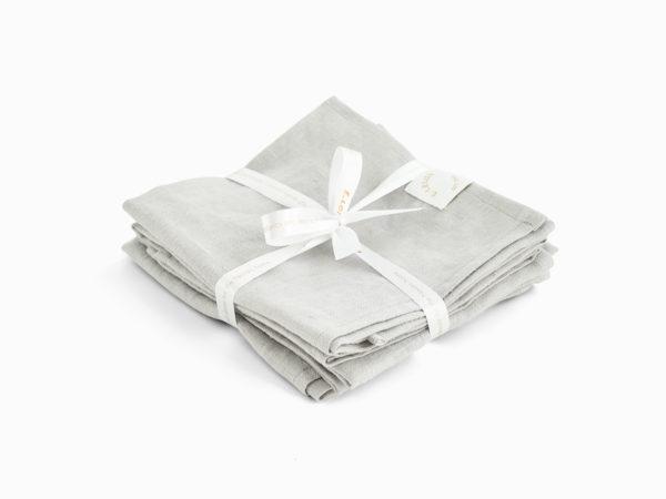 gråa linneservetter